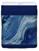 Ice Currents Duvet Cover