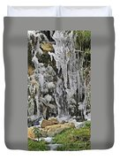 Ice Droplets  Duvet Cover