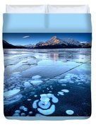 Ice Formations Duvet Cover
