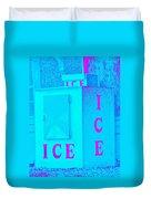 Ice Ice Baby Duvet Cover