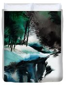 Ice Land Duvet Cover