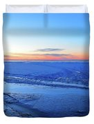 Ice On The Lake Two  Duvet Cover