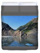 Ice On The Water Duvet Cover