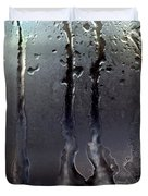 Ice On Window 3 Duvet Cover