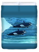 Ice Palace Duvet Cover