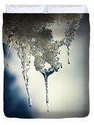 Ice Photo 4 Duvet Cover
