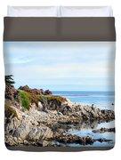 Ice Plant Along The Monterey Shore 2 Duvet Cover