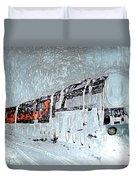 Ice Queen Express Duvet Cover