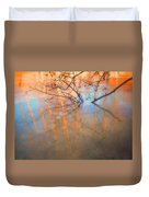 Ice Reflections 2 Duvet Cover