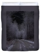 Ice Road Duvet Cover