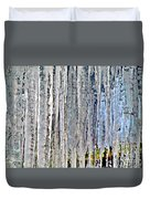 Ice Sickle Curtains Duvet Cover