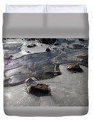 Ice Snakes Duvet Cover