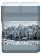 Ice Storm In The Flint Hills No 1 2724 Duvet Cover