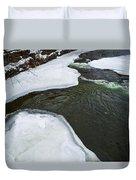 Ice Whirlpool Duvet Cover