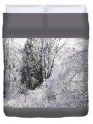 Ice Wonderland Duvet Cover