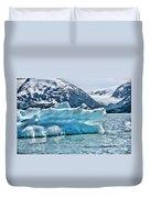 Iceberg Glacier Alaska  Duvet Cover
