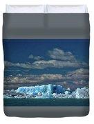 Iceberg In Viedma Lake - Patagonia Duvet Cover