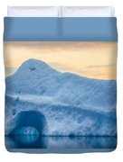 Iceberg On The Jokulsarlon Glacial Duvet Cover
