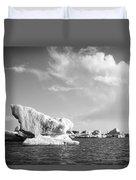 Icebergs Duvet Cover