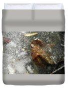 Iced Leaf Duvet Cover