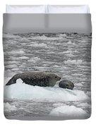 Iced Mother Duvet Cover