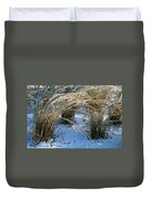 Iced Ornamental Grass Duvet Cover