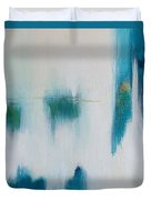 Iced Over Duvet Cover by KR Moehr