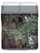 Iced Pine Duvet Cover