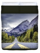 Icefield Parkway Duvet Cover