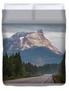 Icefields Parkway Banff National Park Duvet Cover
