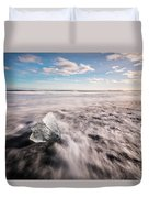 Iceland And Glaciers Duvet Cover