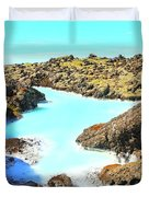 Iceland Blue Lagoon Healing Waters Duvet Cover