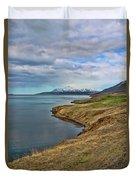 Iceland Landscape # 8 Duvet Cover
