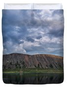 Iceland Mountain Reflections  Duvet Cover