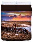 Iceland Sunset # 1 Duvet Cover