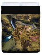 Icelandic Autumn Duvet Cover