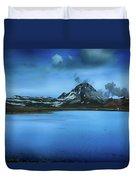 Icelandic Blue Duvet Cover