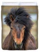Icelandic Equine Beauty.. Duvet Cover