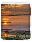 Icelandic Sunset Duvet Cover
