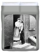Iceman & Housewife Duvet Cover