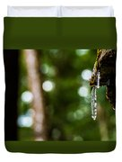 Icicles 2 Duvet Cover