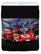 Ickx And Schetty Duvet Cover