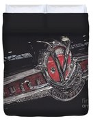 Icons Buick V8 Duvet Cover