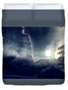 Icons Of Horror Nightmare On Elm Street Duvet Cover