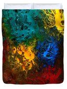 Icy Abstract 10 Duvet Cover by Sami Tiainen