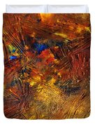 Icy Abstract 11 Duvet Cover by Sami Tiainen