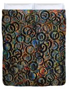 Icy Abstract 12 Duvet Cover by Sami Tiainen