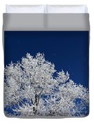 Icy Brilliance Duvet Cover
