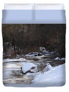 Icy Creek Duvet Cover