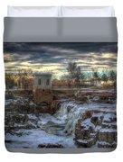 Icy Falls Duvet Cover